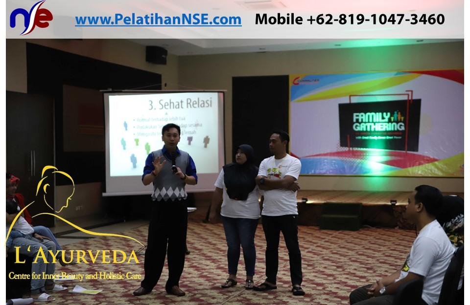 L'Ayurveda PelatihanNSE - Family Gathering Kereta Commuter Indonesia Angkatan IV 2018 - 27-28 Maret 2018 - Komunikasi Pasangan