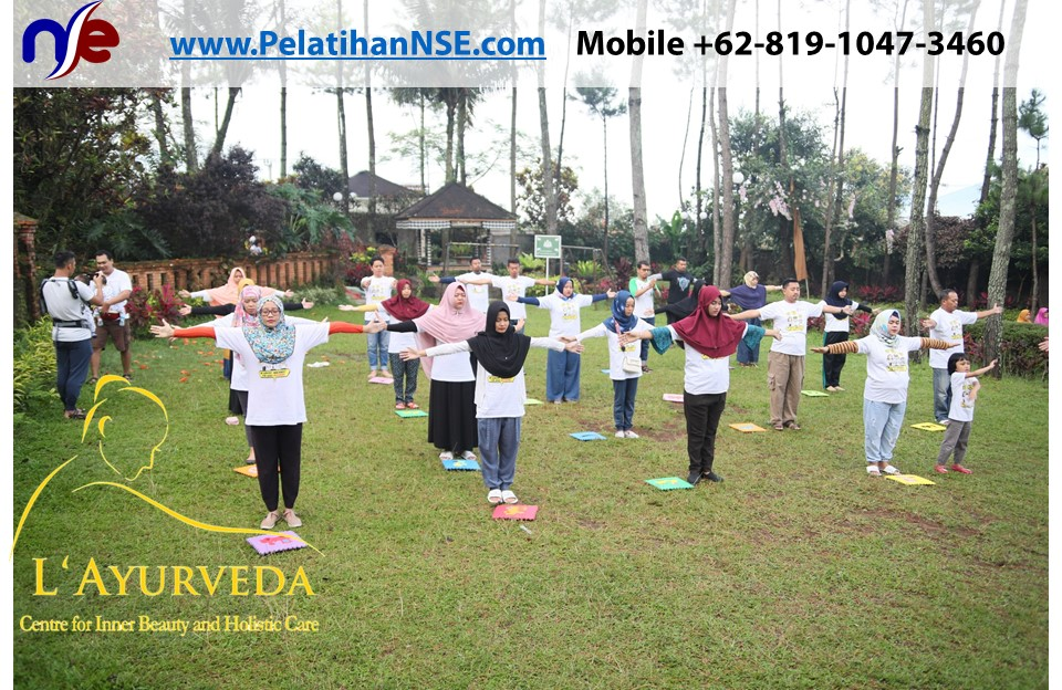 L'Ayurveda PelatihanNSE - Family Gathering Kereta Commuter Indonesia Angkatan V 2018 - 3-4 Apr 2018 - AIM Yoga