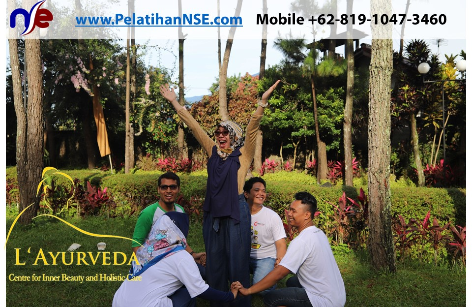 L'Ayurveda PelatihanNSE - Family Gathering Kereta Commuter Indonesia Angkatan V 2018 - 3-4 Apr 2018 - Antusias Bermain