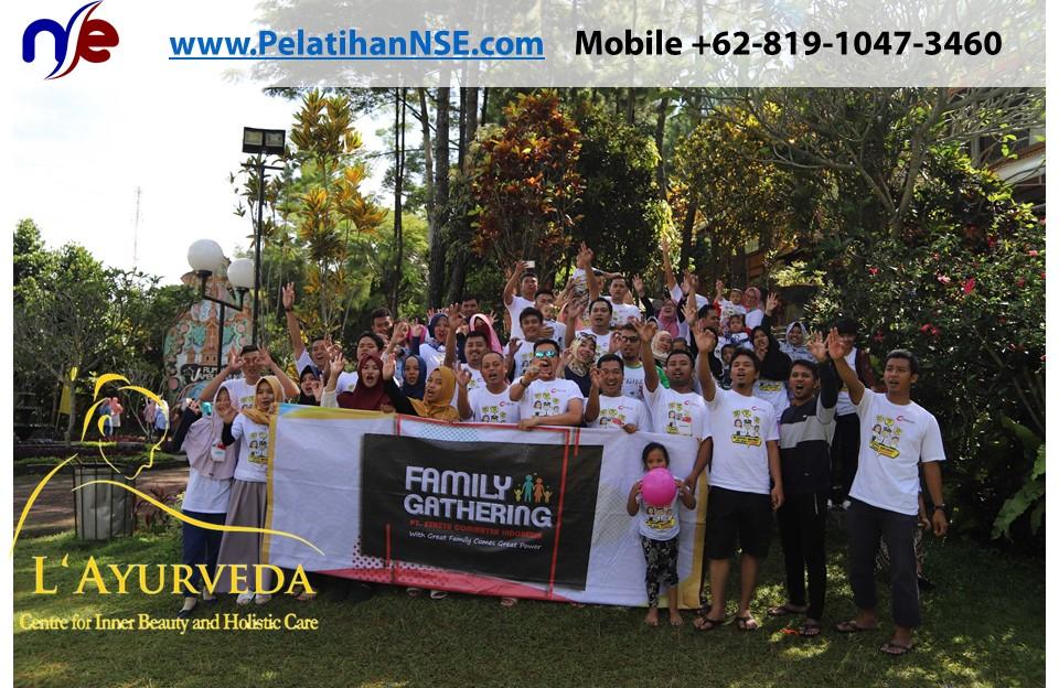 L'Ayurveda PelatihanNSE - Family Gathering Kereta Commuter Indonesia Angkatan V 2018 - 3-4 Apr 2018 - Foto Bersama