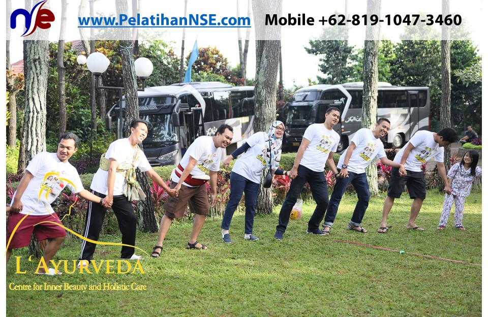 L'Ayurveda PelatihanNSE - Family Gathering Kereta Commuter Indonesia Angkatan V 2018 - 3-4 Apr 2018 - Games bersama