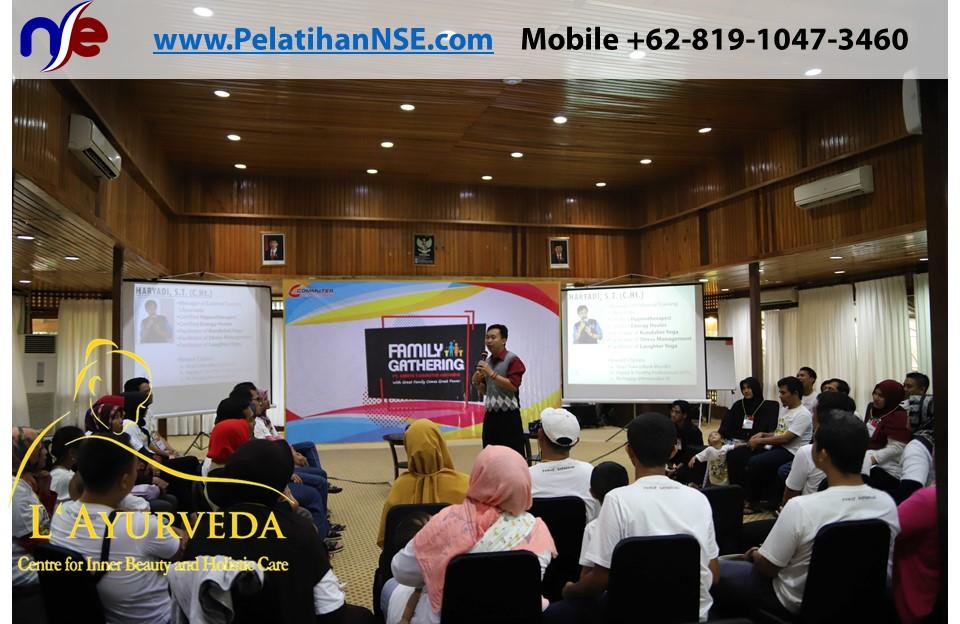 L'Ayurveda PelatihanNSE - Family Gathering Kereta Commuter Indonesia Angkatan V 2018 - 3-4 Apr 2018 - Materi Pak Haryadi