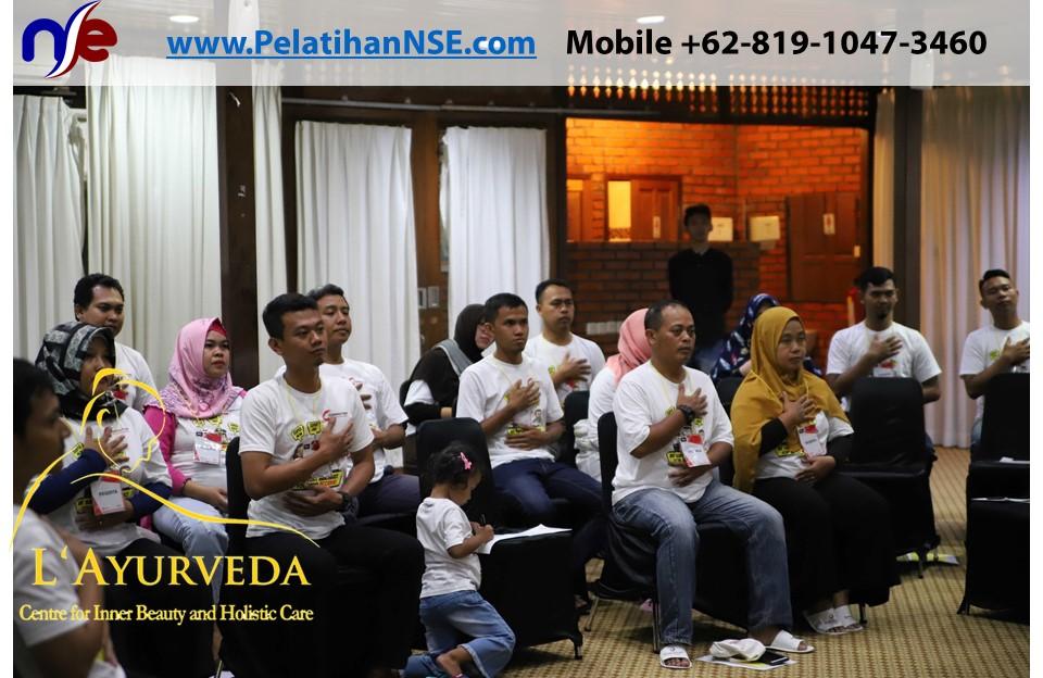 L'Ayurveda PelatihanNSE - Family Gathering Kereta Commuter Indonesia Angkatan V 2018 - 3-4 Apr 2018 - Tes Pernapasan