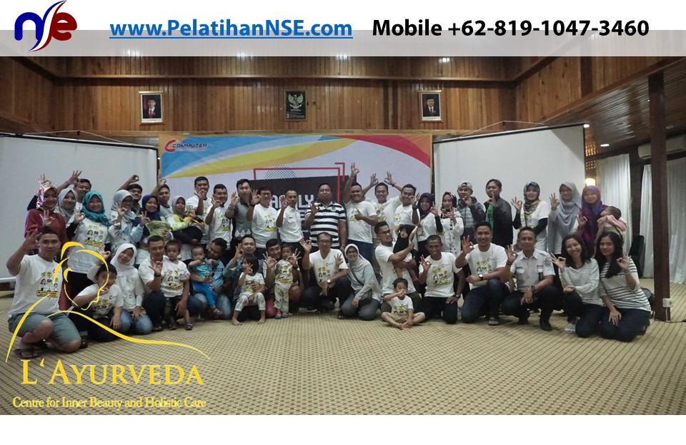 L'Ayurveda PelatihanNSE - Family Gathering Kereta Commuter Indonesia Angkatan VI 2018 - 4-5 Apr 2018 - Foto Bersama