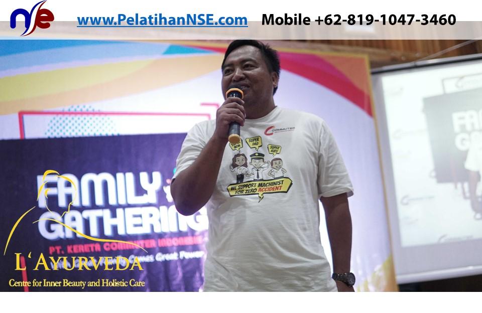 L'Ayurveda PelatihanNSE - Family Gathering Kereta Commuter Indonesia Angkatan VI 2018 - 4-5 Apr 2018 - Manajer Crew Pak Suparmono