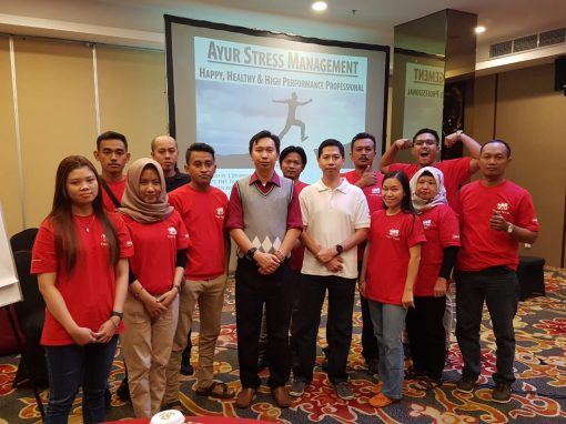 "Workshop ""Ayur Stress Management"" – FNF Trans Niaga"