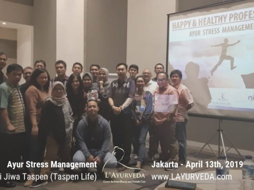 "Workshop ""Ayur Stress Management"" – Taspen Life"