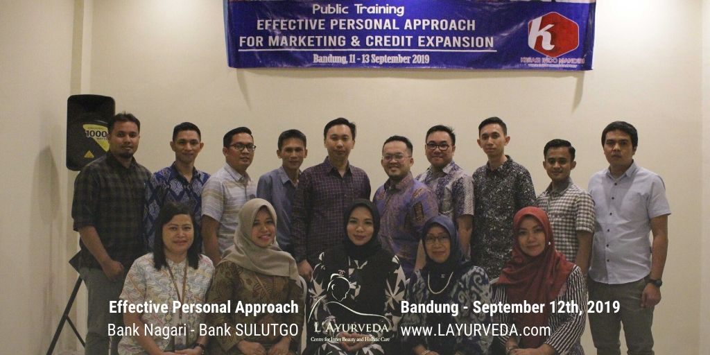 Effective Personal Approach - Bank Nagari & Bank Sulutgo - 12 September 2019 - Foto Bersama