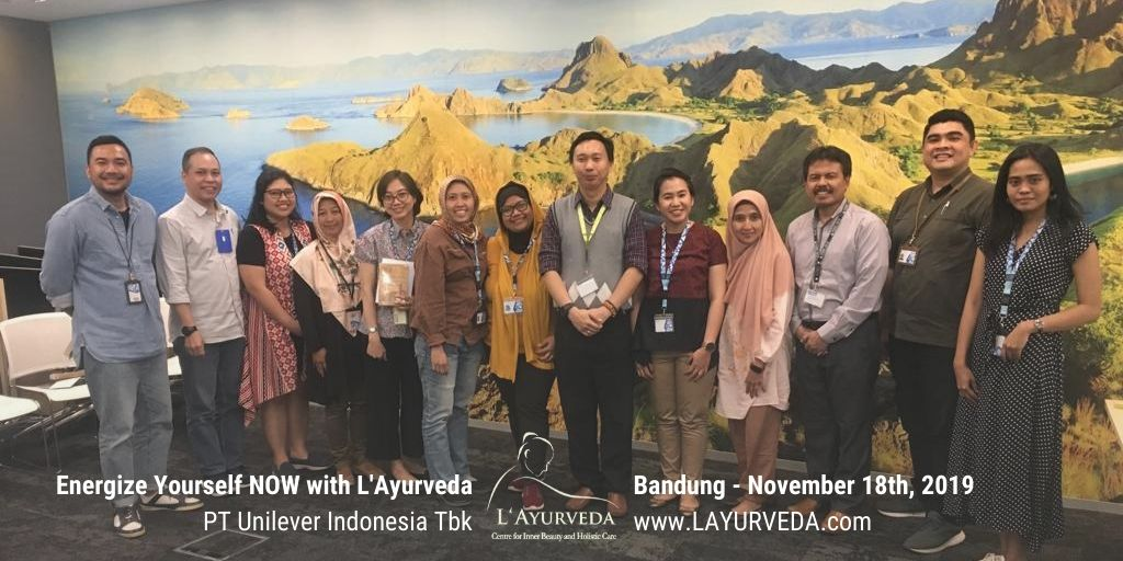 Energize Yourself NOW with L'Ayurveda - Unilever Indonesia - 18 November 2019 - Foto Bersama