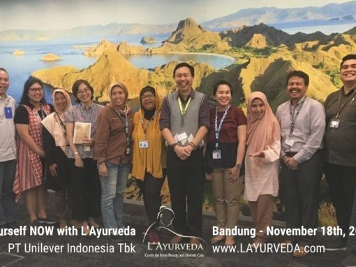 Energize Yourself NOW with L'Ayurveda – Unilever Indonesia