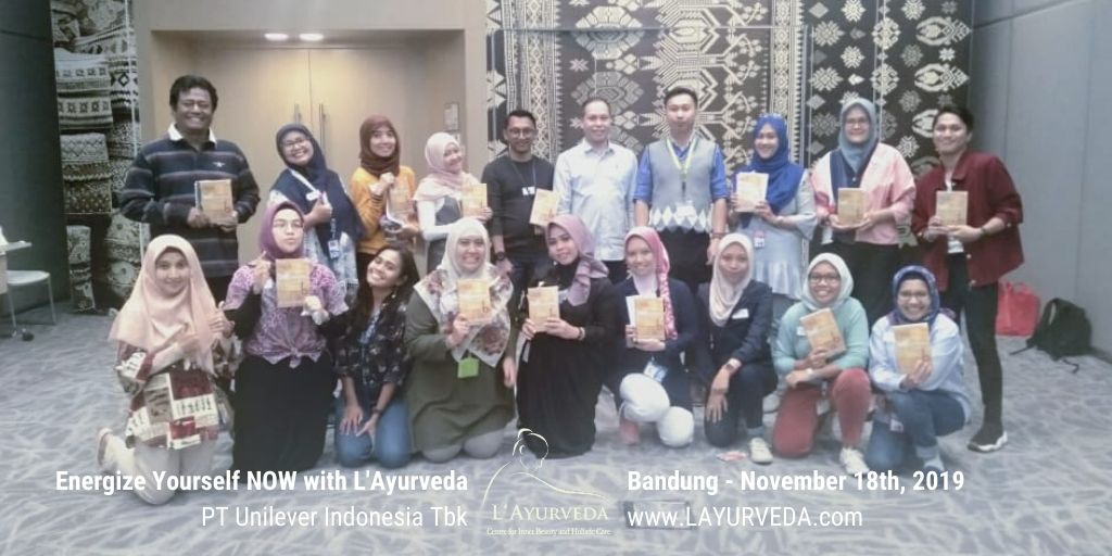 Energize Yourself NOW with L'Ayurveda - Unilever Indonesia - 27 November 2019 - Foto Bersama
