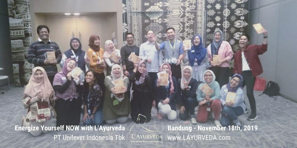 Energize Yourself NOW with L'Ayurveda - Unilever Indonesia - 27 November 2019 - Tertawa Bersama